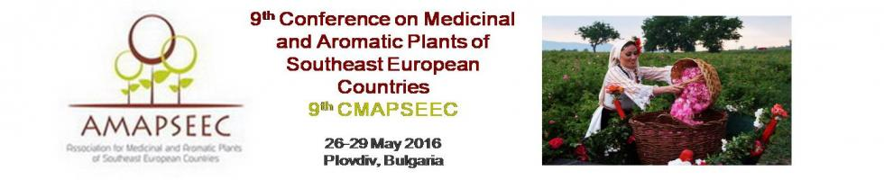 9th Conference on Medicinal and Aromatic Plants of Southeast European Countries