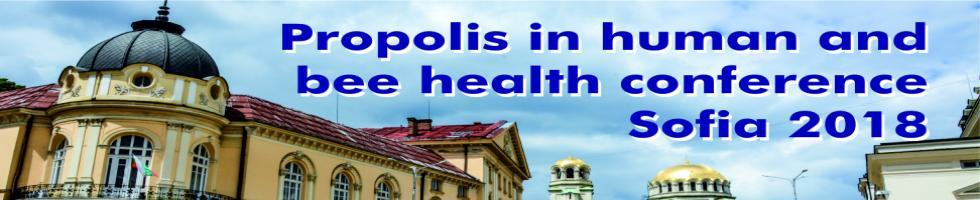 Second Propolis Conference Sofia 2018